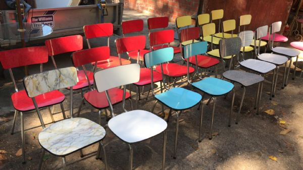 Over 40 1950s French Dining Chairs - ca176